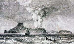 Krakatoa explosion