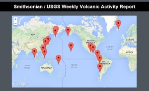 3. GVP map of volcanic activity.
